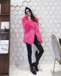 Knitted Raccoon Fur Jacket 931b