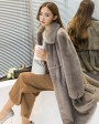 Mink Fur Coat 743 Silver-Blue 4