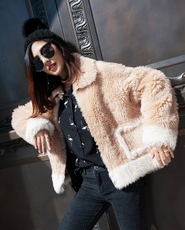 Merino Shearling Sheep Fur Jacket