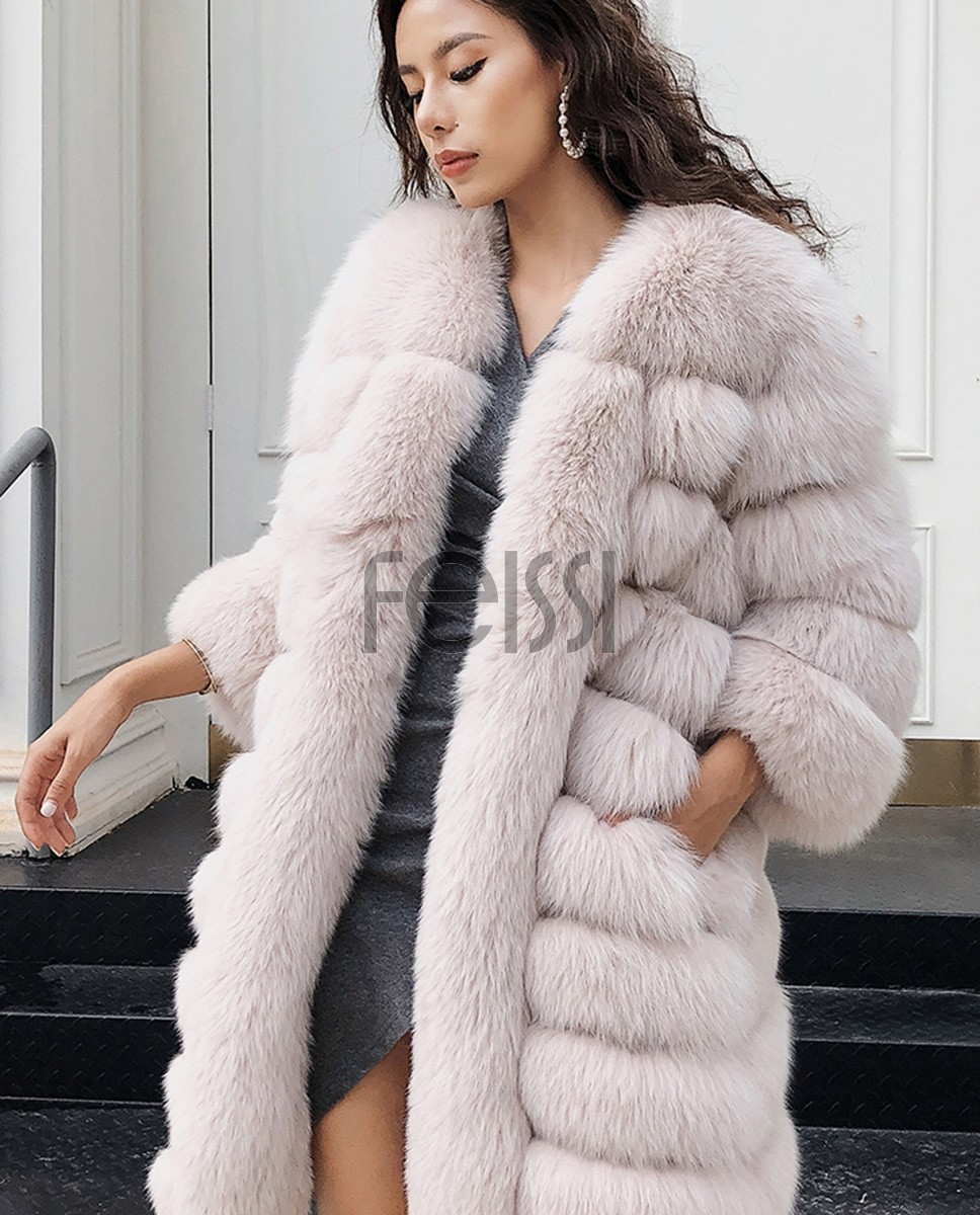 Fox Fur Coat 266a