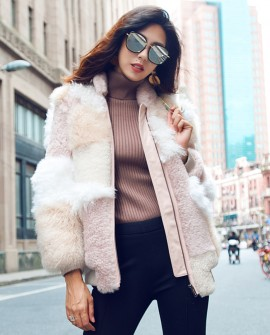 Shearling Sheep Fur Jacket 097a