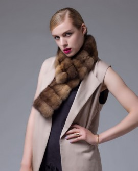 Sable Fur Scarf