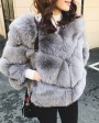 Cropped Fox Fur Jacket 0033d