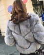 Cropped Fox Fur Jacket 0033e