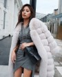 Fox Fur Coat 266h