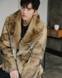 Men's Coyote Fur Coat 392d