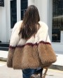 Multicolored Fox Fur Jacket 274d