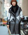 Shearling Sheepskin Coat 696 4