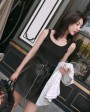 Sheepskin Real Leather Waistbelted Skirt 017f