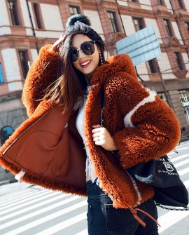 Merino Shearling Sheep Fur Coat