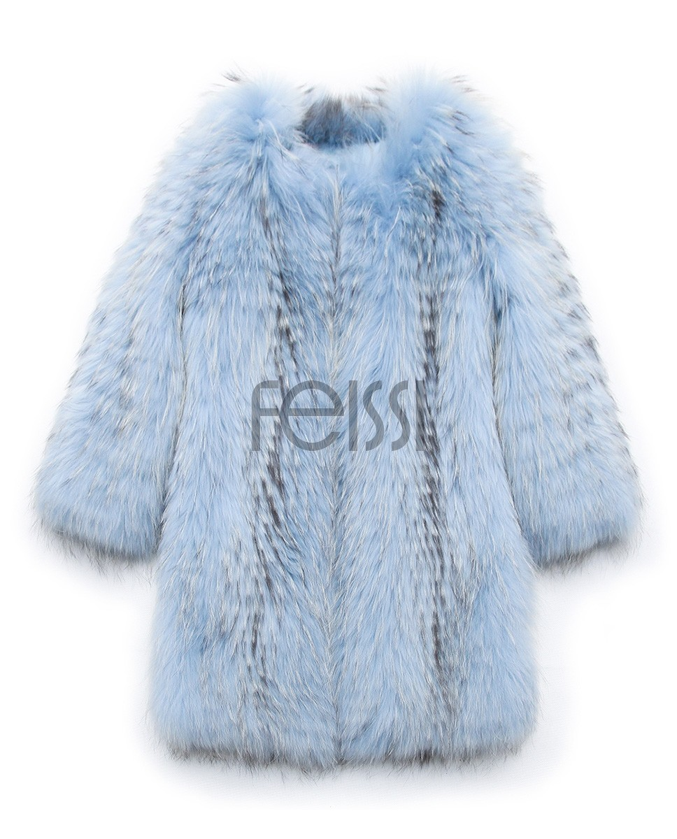 Raccoon Fur Coat 0096h