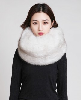Fox Fur Scarf Neck Warmer