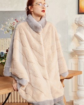 Mink Fur Cape 290b