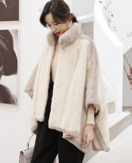Mink Fur Cape 345a