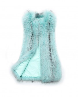 Raccoon Fur Vest 0098b