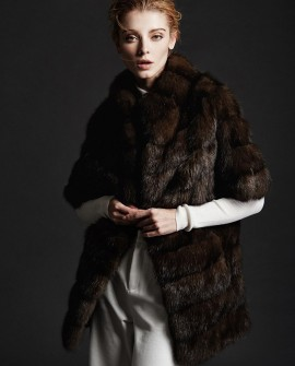 Sable Fur Jacket 179a