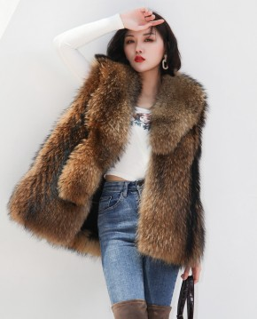 Raccoon Fur Vest 398a