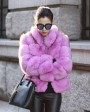 Fox Fur Jacket 986e