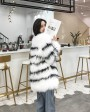 Knitted Fox Fur Jacket 316d