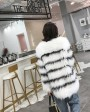 Knitted Fox Fur Jacket 316e