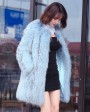 Raccoon Fur Coat 0096e