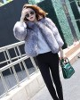 Silver Blue Fox Fur Jacket 992b