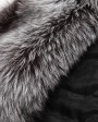 Silver Fox Fur Cape cafo12_9
