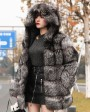 Silver Fox Fur Coat 254l