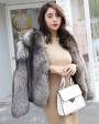 Silver Fox Fur Jacket 0068e