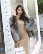 Silver Fox Fur Jacket 0068g