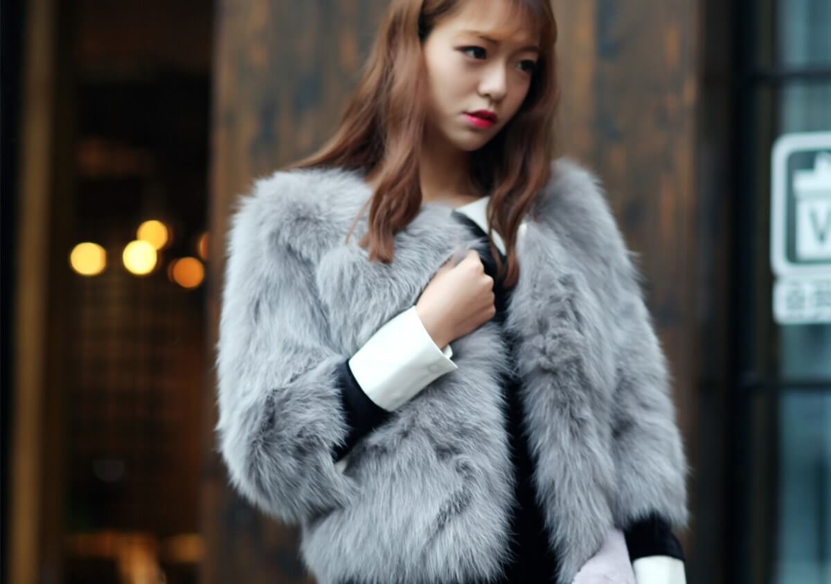 Real fur fashion feissi fur store shopping fur coats for Stor fur gartenteich