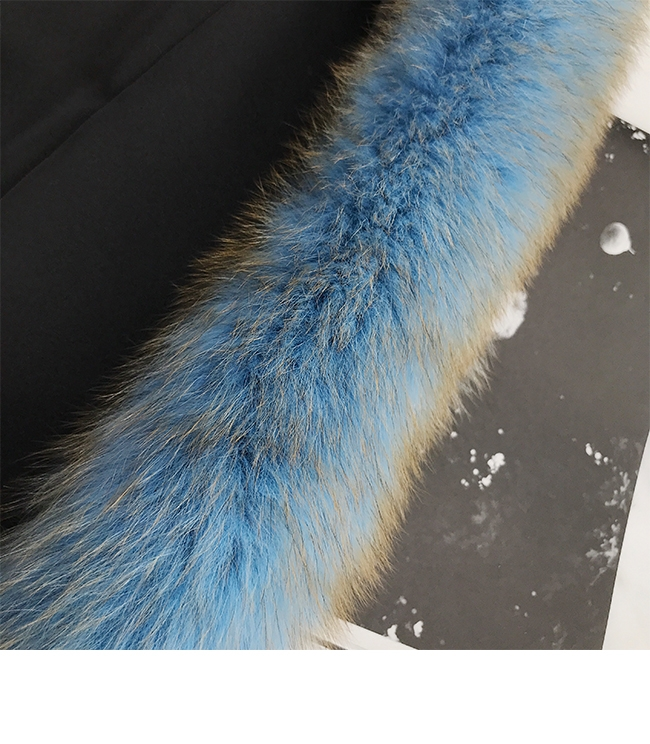 Fox Fur Long Coat 0053-4