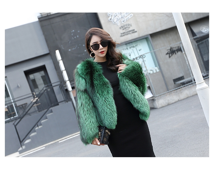 Silver Fox Fur Jacket 0068-1