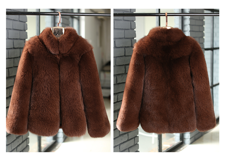 Fox Fur Coat 007 Details 1