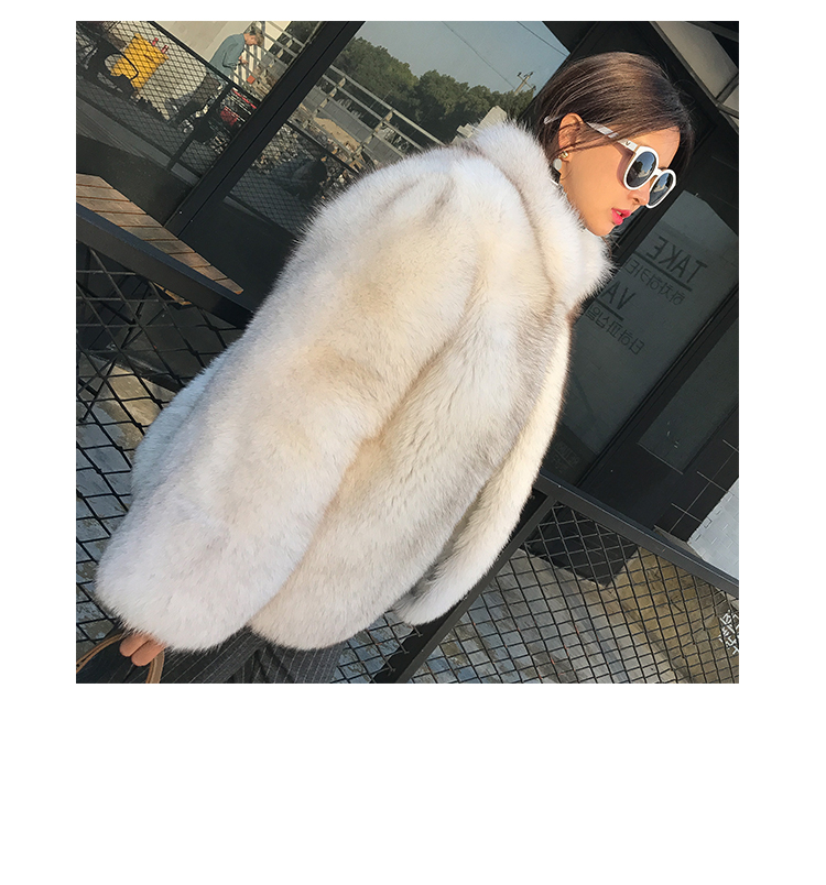 Fox Fur Coat 007 Details 12