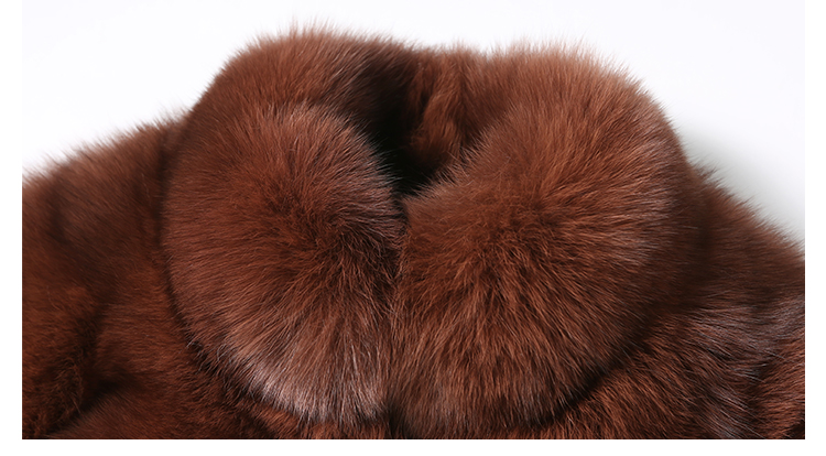 Fox Fur Coat 007 Details 2