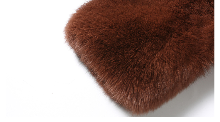 Fox Fur Coat 007 Details 3