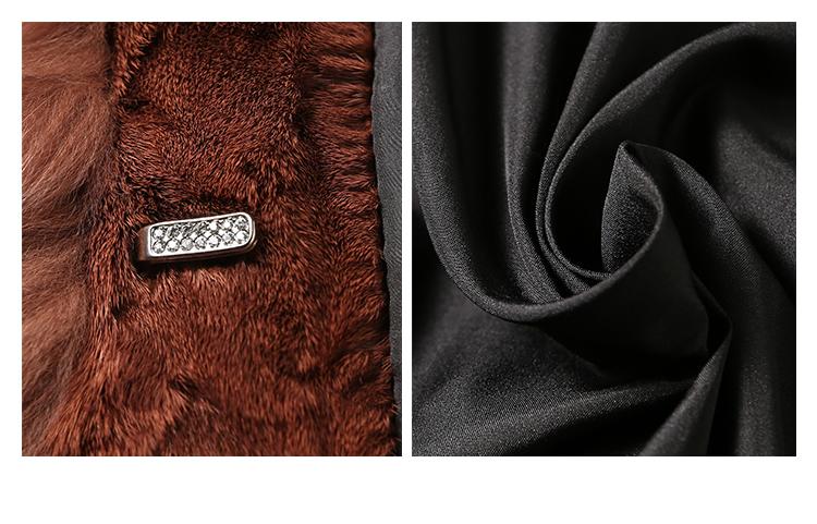Fox Fur Coat 007 Details 5