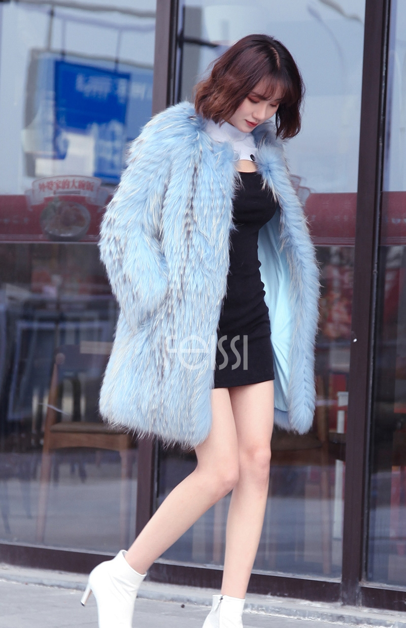 Raccoon Fur Coat 0096-10