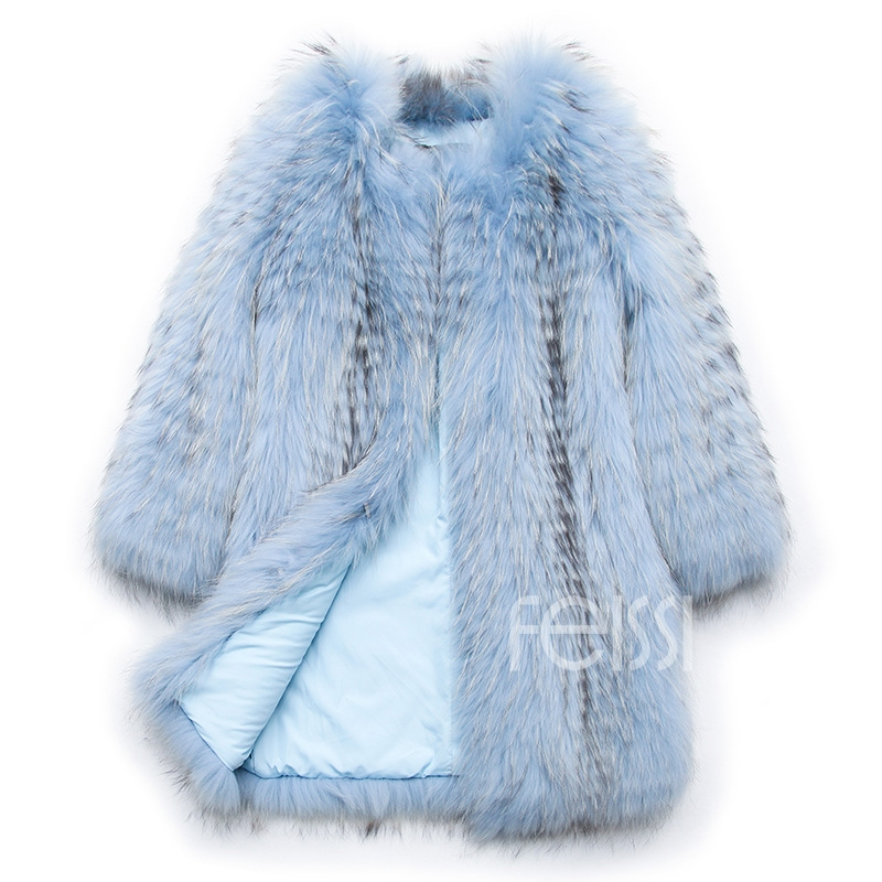 Raccoon Fur Coat 0096-12