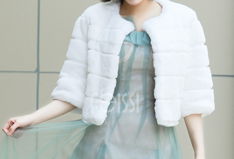 Rex Rabbit Fur Bolero 0104-14