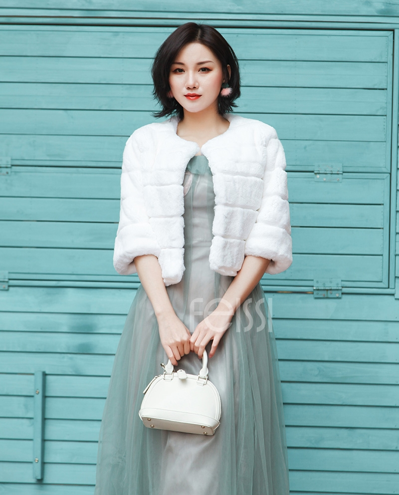 Rex Rabbit Fur Bolero 0104-4