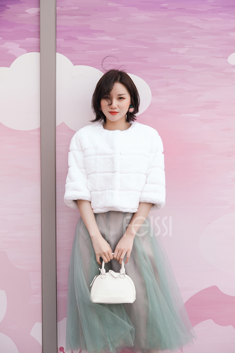 Rex Rabbit Fur Bolero 0104-7