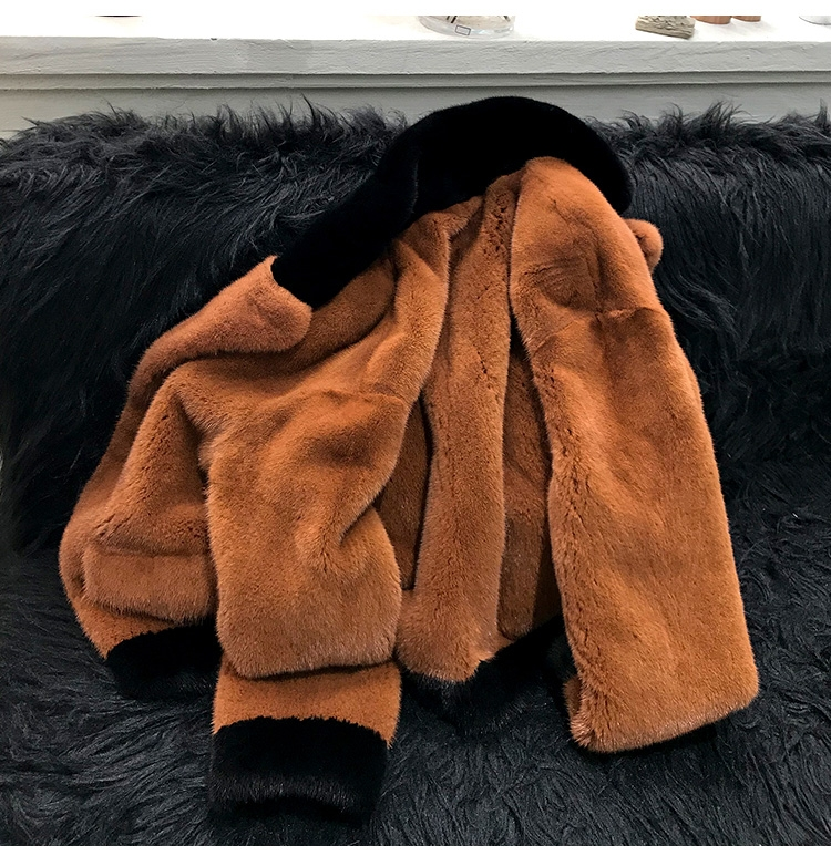 Mink Fur Bomber Jacket 0107-1