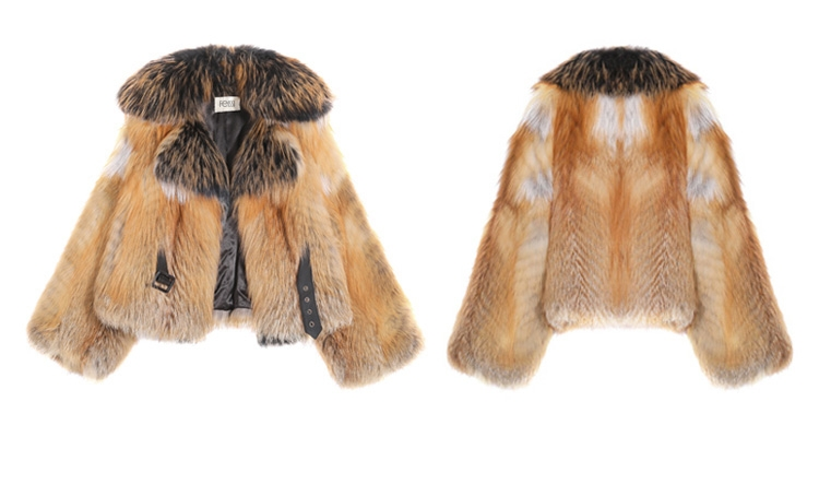 Red Fox Fur Jacket 0221-1