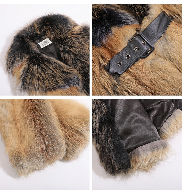 Red Fox Fur Jacket 0221-2