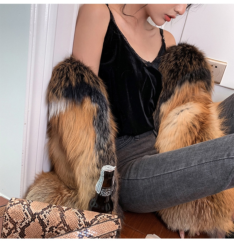 Red Fox Fur Jacket 0221-9