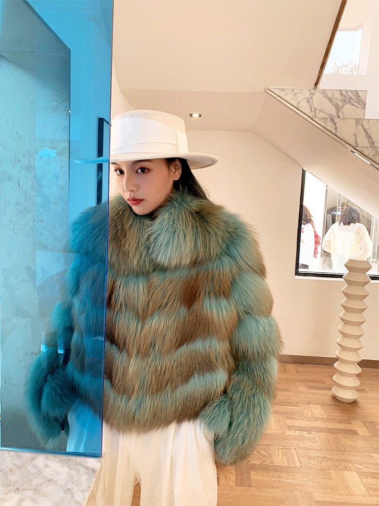 Fox Fur Jacket 0223A-3