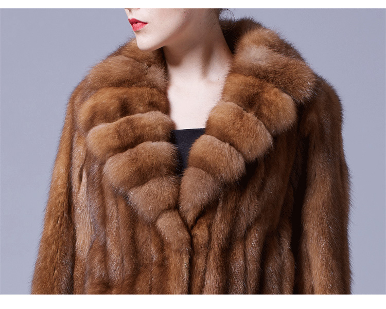 Sable Fur Coat 056 Details 1