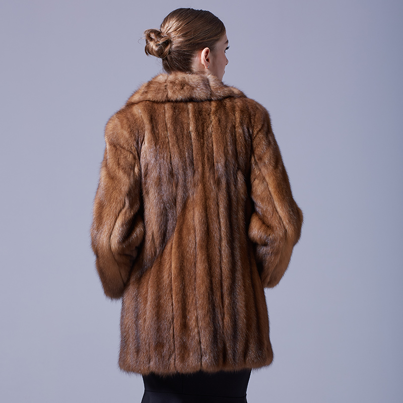 Sable Fur Coat 056 Details 3